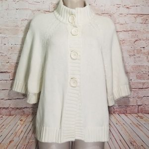 Michael Kors   Chunky Cardigan w/Snap-On Buttons